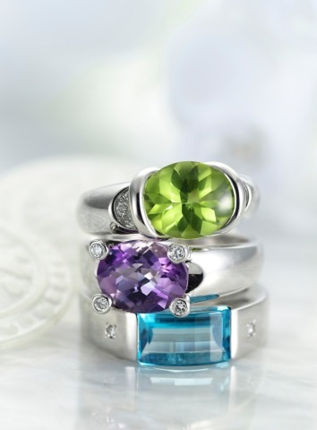 costume jewelry peridots