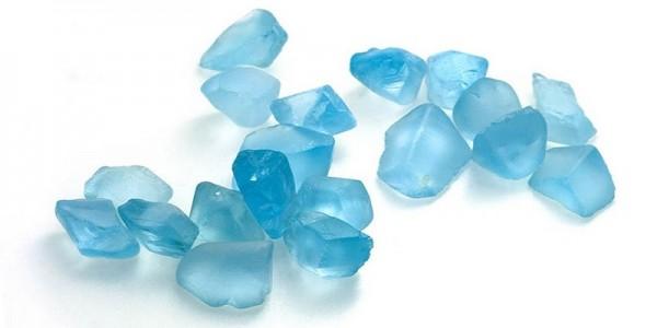 raw topaz stones